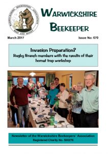 thumbnail of Warwickshire Beekeeper 670 – March 2017