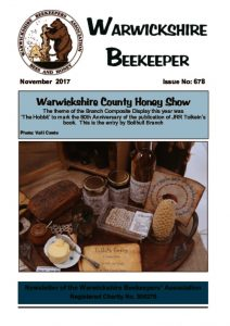 thumbnail of Warwickshire Beekeeper 678 – November 2017