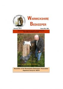 thumbnail of Warwickshire Beekeeper 656 – January 2016