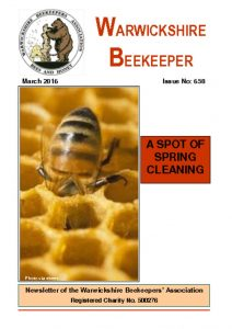 thumbnail of Warwickshire Beekeeper 658 – March 2016