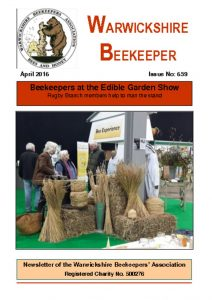 thumbnail of Warwickshire Beekeeper 659 – April 2016