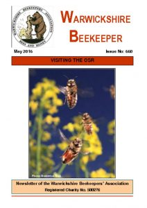 thumbnail of Warwickshire Beekeeper 660 – May 2016