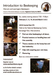 Introduction to Beekeeping - 6 week course @ National Beekeeping Centre